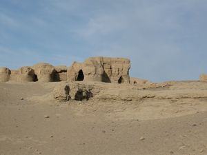 交河故城(中国、新疆ウイグル自治区)