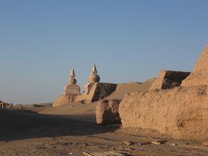 カラホト〔黒水城〕(中国 内モンゴル自治区)