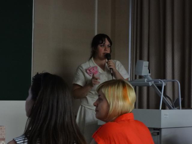 ロシア国立マンガ図書館のユーリア・タラスュークさん
