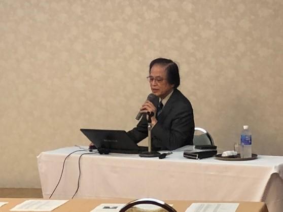 講演会講師の佐々木丞平氏